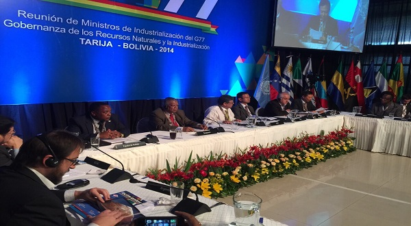 A Delegation of the Ministry of Mines, Industry and Energy attends the meeting of Ministers of G77 + China in Tarija – Bolivia.
