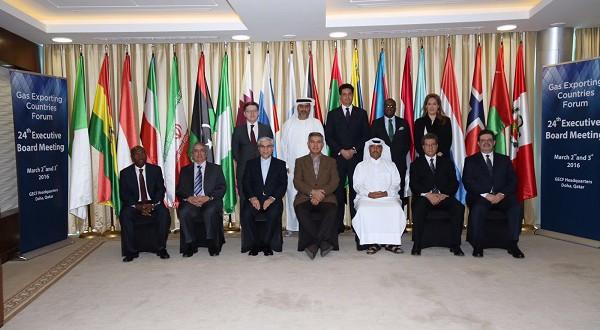 Guinea Ecuatorial Participa en el  25º consejo Ejecutivo del Foro de Países Exportadores de Gas (GECF)