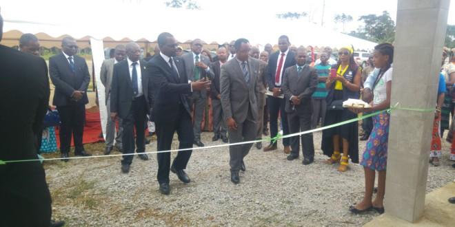 El Ministro Mbaga Obiang Lima realiza una gira de trabajo en la Region Continental