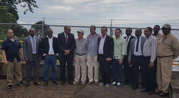 Una delegación del Fondo Kuwaití visita Punta Europa